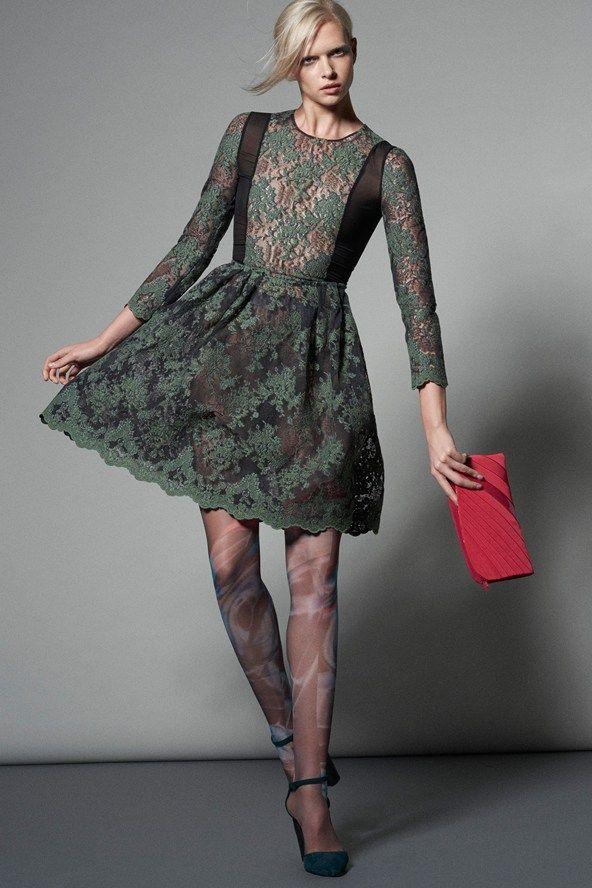 Lace Dresses Fall-Winter 2015-2016 Giorgio Armani