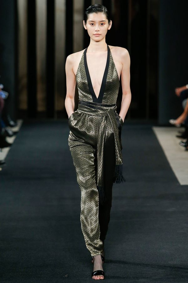 Jumpsuit Fashion Trends Fall-Winter 2015-2016 J. Mendel