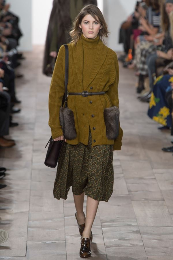 Knitted Cardigans for Women Fall-Winter 2015-2016 Michael Kors Collection