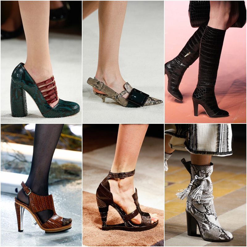 Exotic leather shoes Fall-Winter 2015-2016