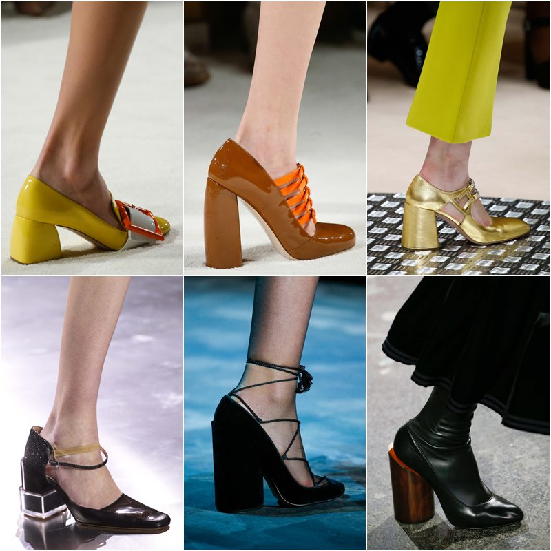 Chunky heel shoes Fall-Winter 2015-2016