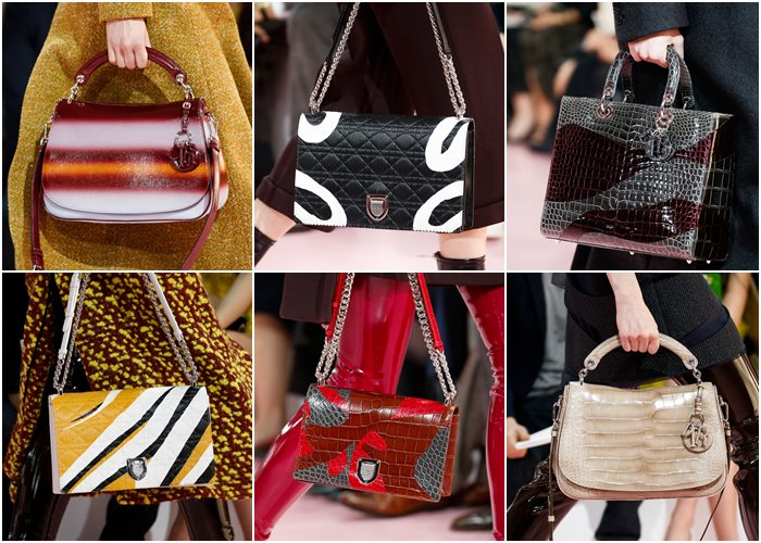 Christian Dior handbags fall-winter 2015-2016