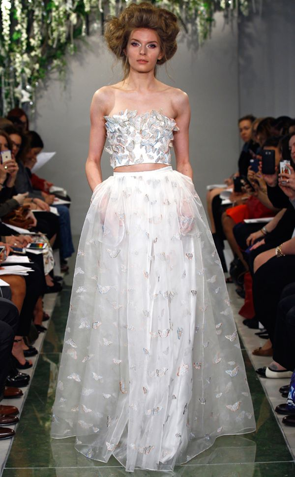 Embroidered and Applique Wedding Dresses 2015-2016 Angel Sanchez