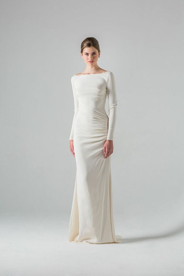 Simple and Elegant Wedding Dresses 2015-2016 Colmar