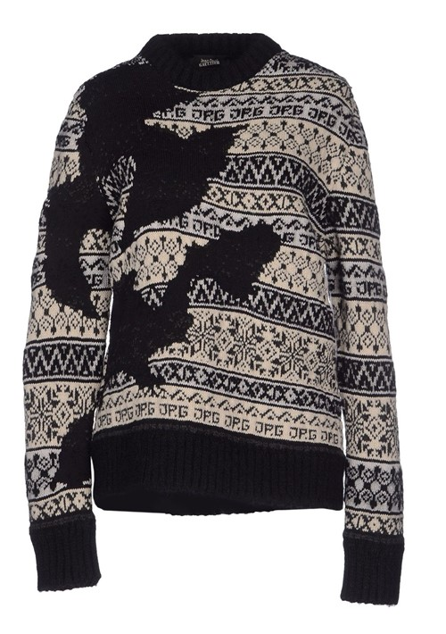 Printed Sweaters Fall-Winter 2015-2016 Jean Paul Gaultier