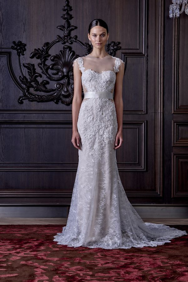 Lace Wedding Dresses 2015-2016 Monique Lhuillier