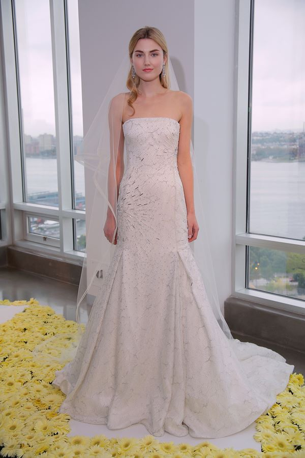 A-Line Wedding Dresses 2015-2016 Pamella Roland