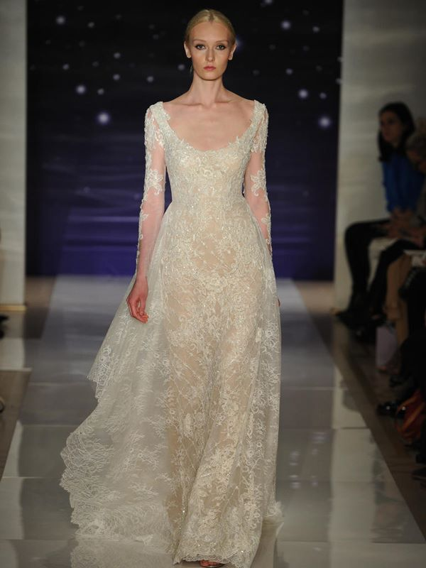 Lace Wedding Dresses 2015-2016 Reem Acra