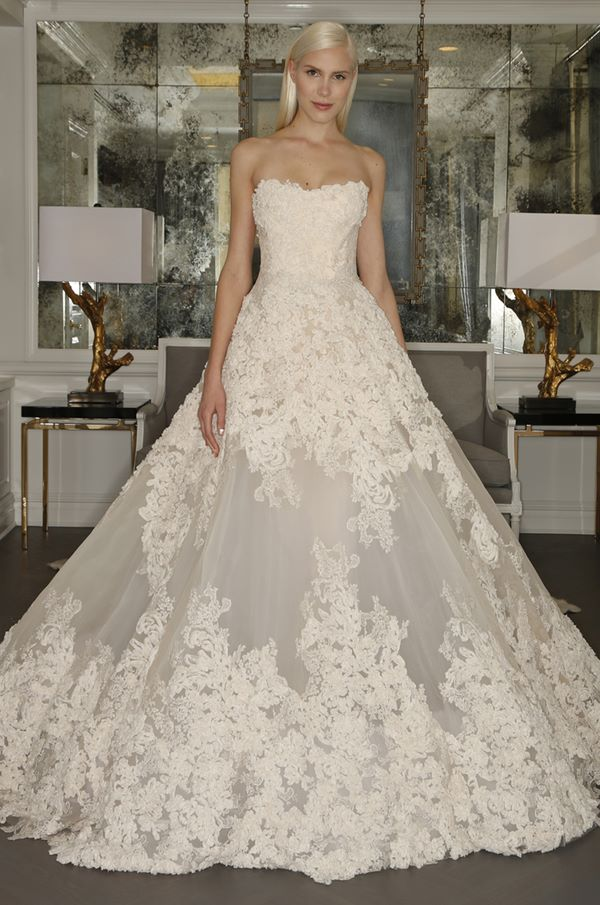 Lace Wedding Dresses 2015-2016 Romona Keveza