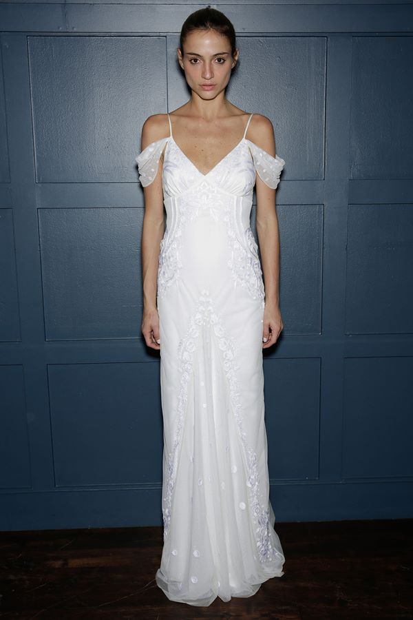 Embroidered and Applique Wedding Dresses 2015-2016 Temperley