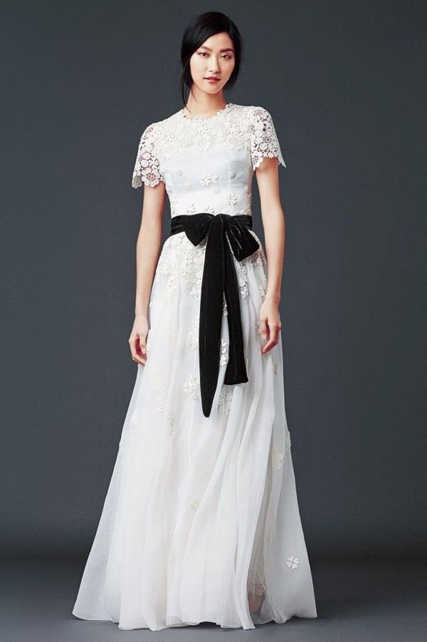Black and White Wedding Dresses 2015-2016 Dolce&Gabbana