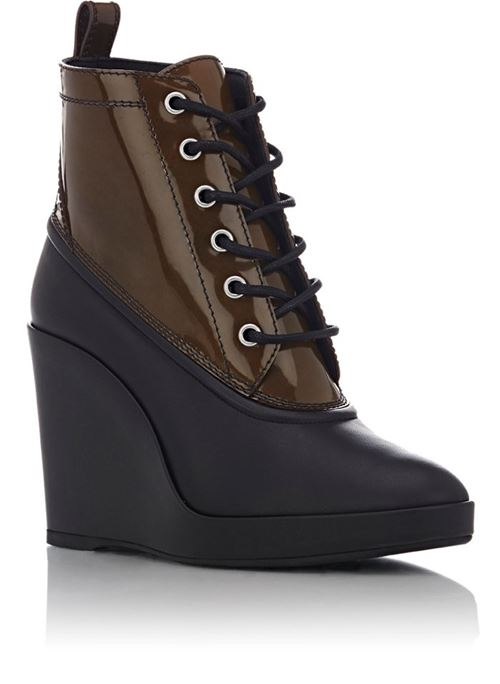 Balenciaga wedge ankle boots