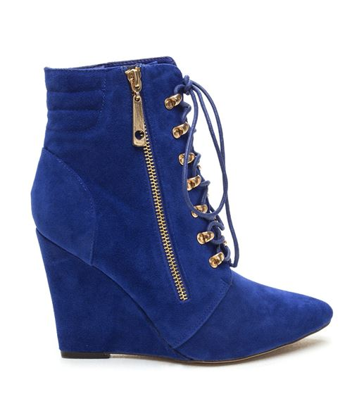 Wedge Ankle Boots Fall-Winter 2015-2016 Lace 'Em Up