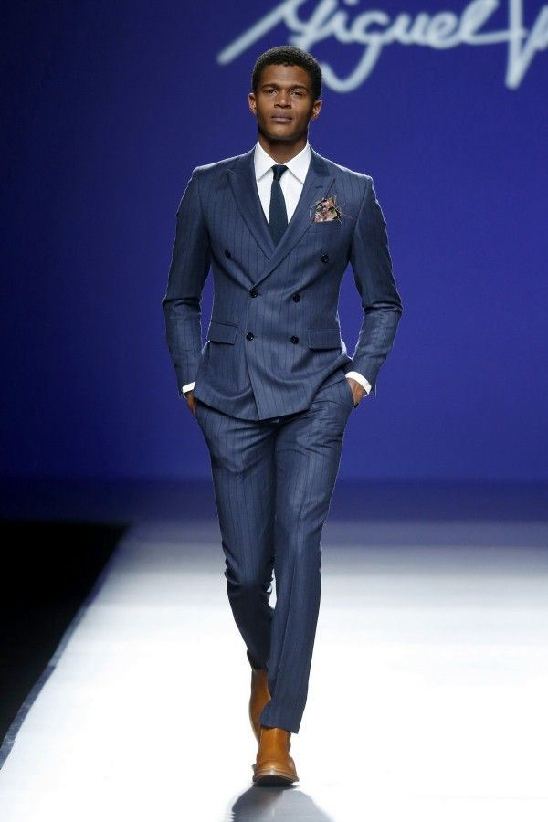 Men's Suits Fall-Winter 2015-2016 Miguel Vieira