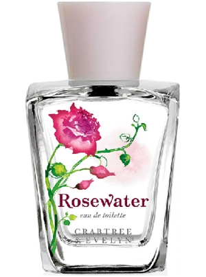 Best Rose Perfumes: Rosewater by Crabtree & Evelyn