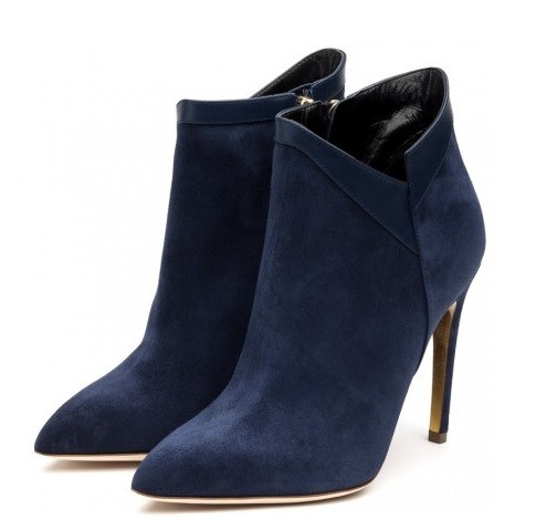 Suede Ankle Boots Fall-Winter 2015-2016 Rupert Sanderson