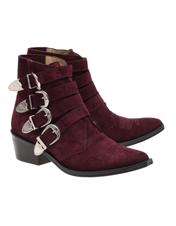 Suede Ankle Boots Fall-Winter 2015-2016 Toga Pulla
