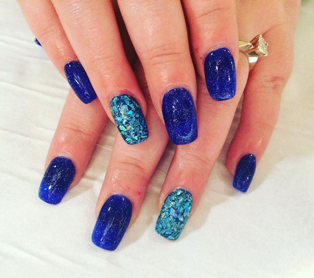 Blue Nail Design Ideas 2015-2016, picture 3