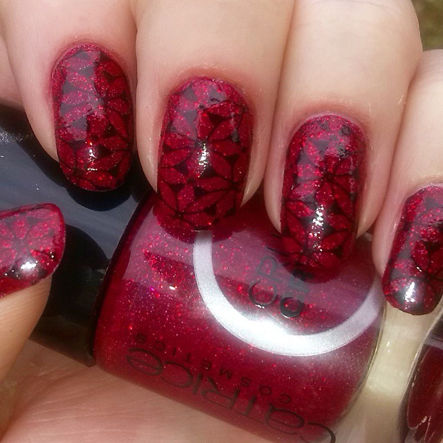 Red Nail Design Ideas For 2015 2016, Picture 1
