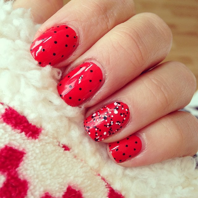 Red Nail Design Ideas 2015-2016, picture 5