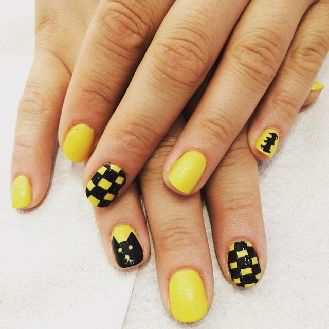Yellow Nail Design Ideas 2015-2016, picture 6