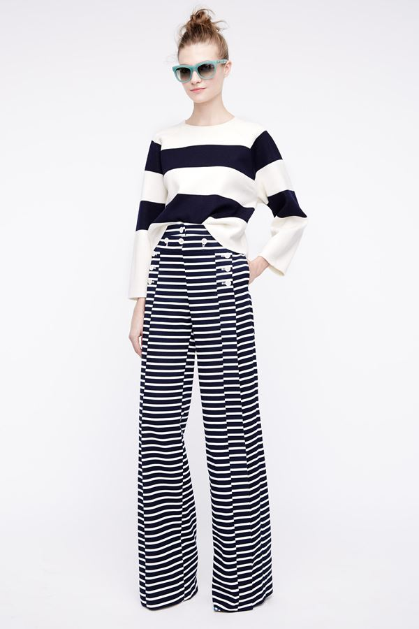 J.Crew  Striped Pants Spring/Summer 2016