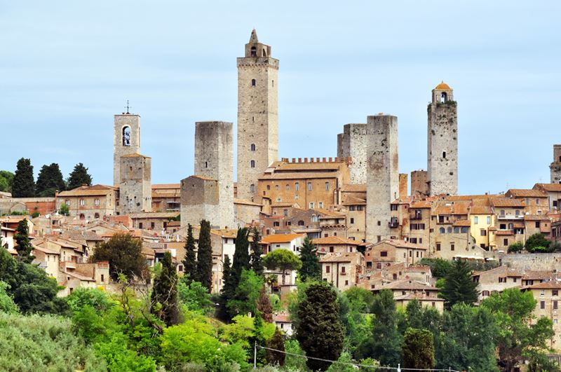 Beautiful places in Tuscany: San Gimignano