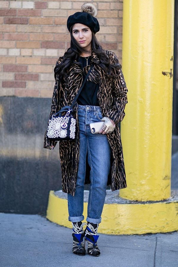 fur coat street style new york 2016 2017 (6)