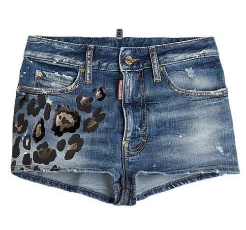 Denim Shorts Dsquared