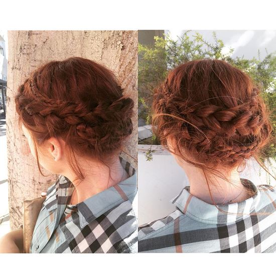 Braided Updos from Instagram 9