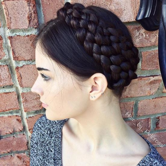 Braided Updos from Instagram 17