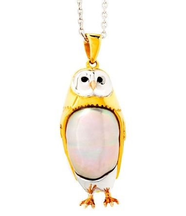 owl jewelry pendant necklace (5)