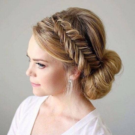 Braided Updos from Instagram 25