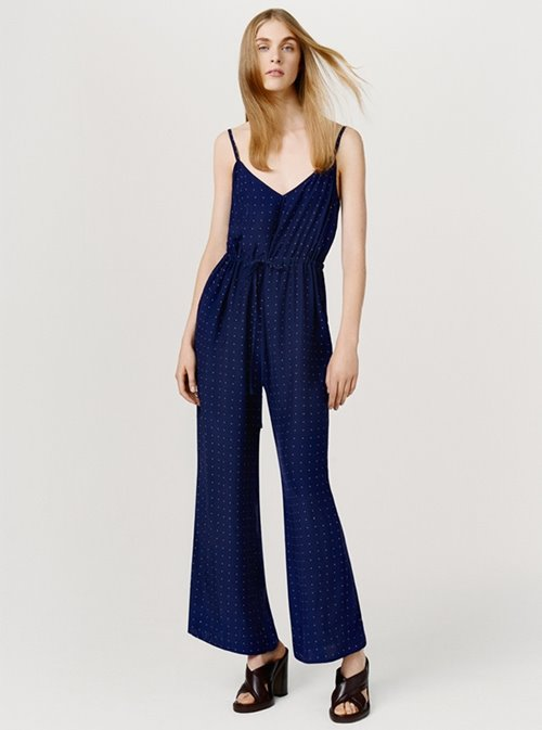 Frame Denim navy blue casual jumpsuit