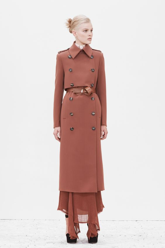 Camilla and Marc double breasted trench coat