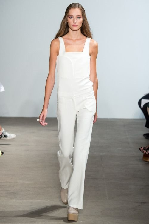 Kaufmanfranco evening white jumpsuit