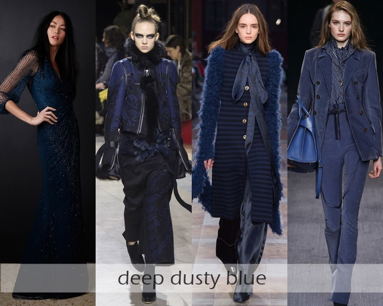 Clothing Colors Fall-Winter 2016-2017 Fashion Trends: dark navy blue