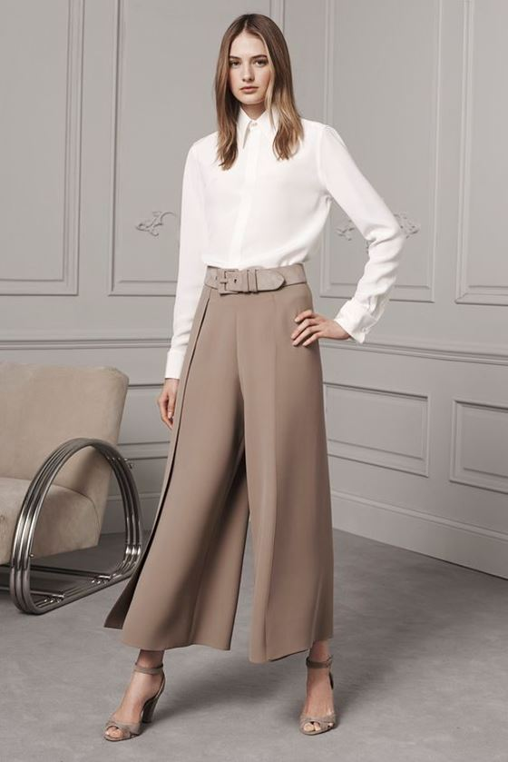 Culottes pants Fall-Winter 2016-2017 Fashion Trends (16)