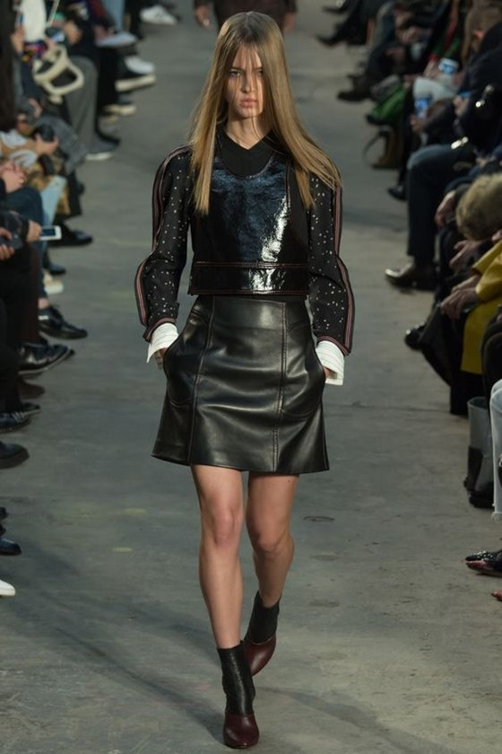 Leather skirts Fall-Winter 2016-2017 Fashion Trends (1)