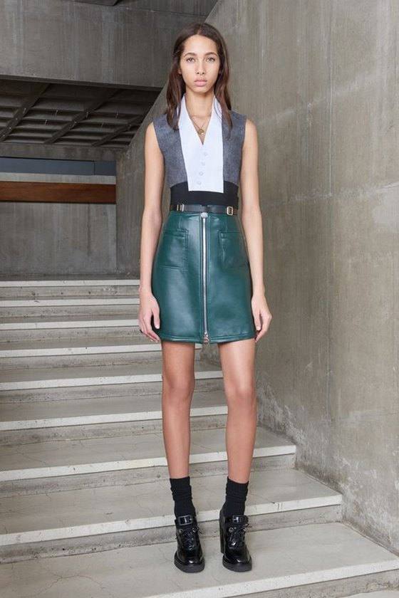 Leather skirts Fall-Winter 2016-2017 Fashion Trends (6)