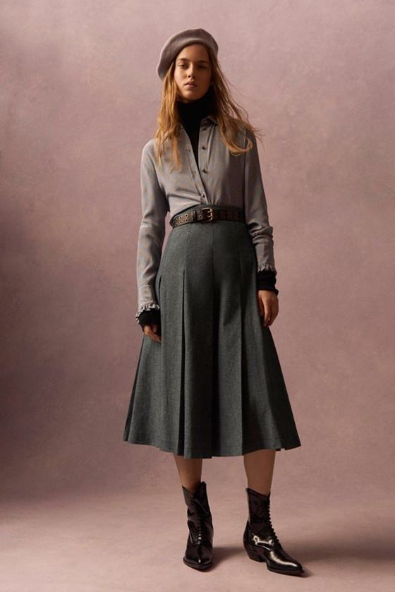 Pleated Skirts Fall-Winter 2016-2017 (15)