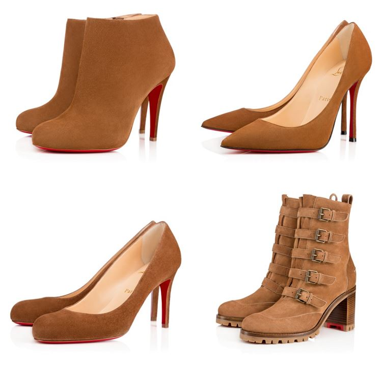 8b9933dc1890 Christian Louboutin Collection Spring Summer 2017  beige suede shoes ...
