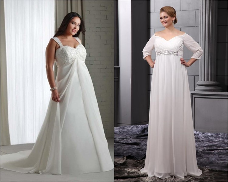 How To Choose The Right Plus Size Wedding Dress | Cinefog
