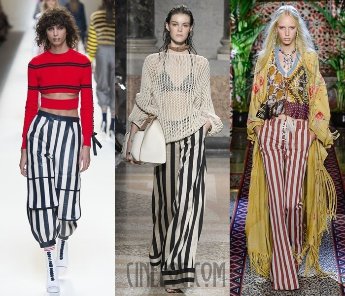 striped pants spring-summer 2017