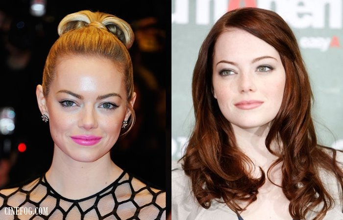 Hairstyles With Without Bangs Celebrity Face Shapes In Focus