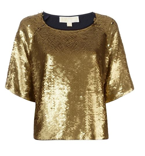 80s style party gold top