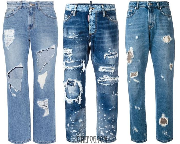 distressed jeans 2017