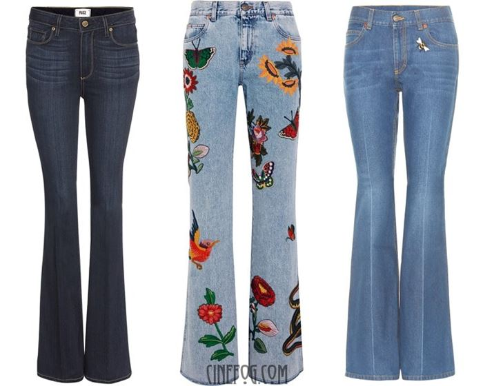 trendy flared jeans 2017