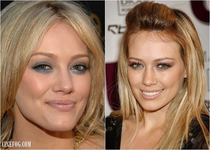 Eyeshadow For Hazel Eyes: Hilary Duff