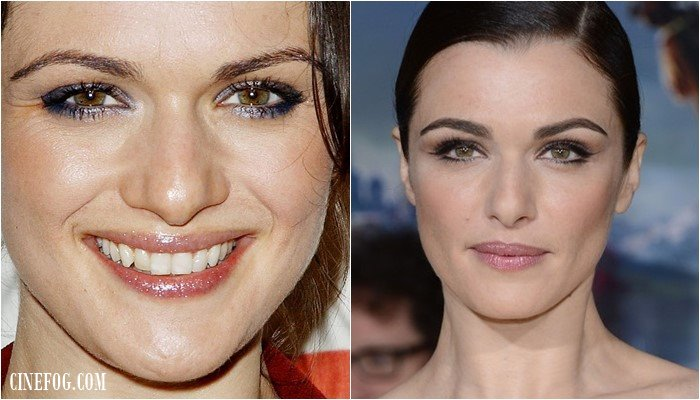 Eyeshadow For Hazel Eyes: Rachel Weisz